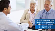 Garcia Espitia & Cia. Abogados independientes con más de 20 años de experiencia en asesorías jurídicas integrales. Puede contactarse a los siguientes números (571) 311 288 53 55 o al (571)301 367 48 78